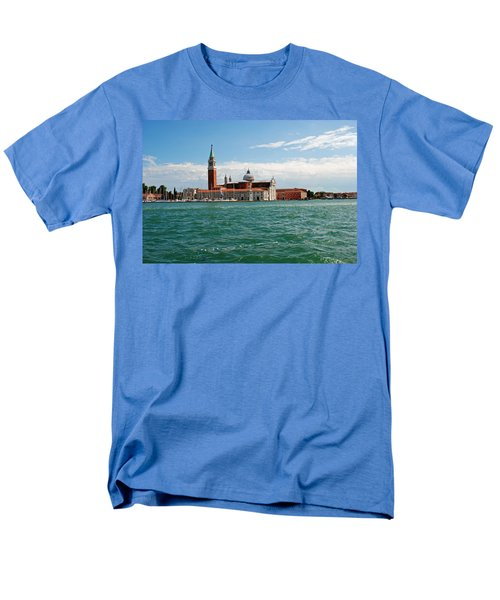 Men's T-Shirt  (Regular Fit) featuring the photograph San Giorgio Maggiore Canal Shot by Robert Moss