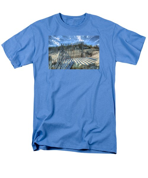 Sand Fence Men's T-Shirt  (Regular Fit) by Greg Reed