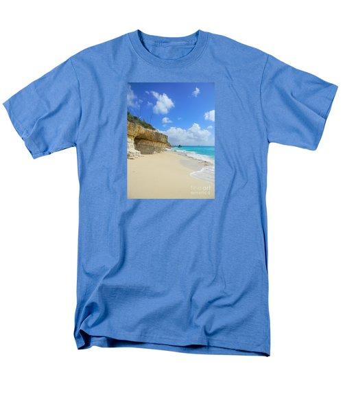 Sand Sea And Sky Men's T-Shirt  (Regular Fit) by Expressionistart studio Priscilla Batzell
