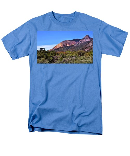 Men's T-Shirt  (Regular Fit) featuring the photograph Sandia Sunset by Gina Savage