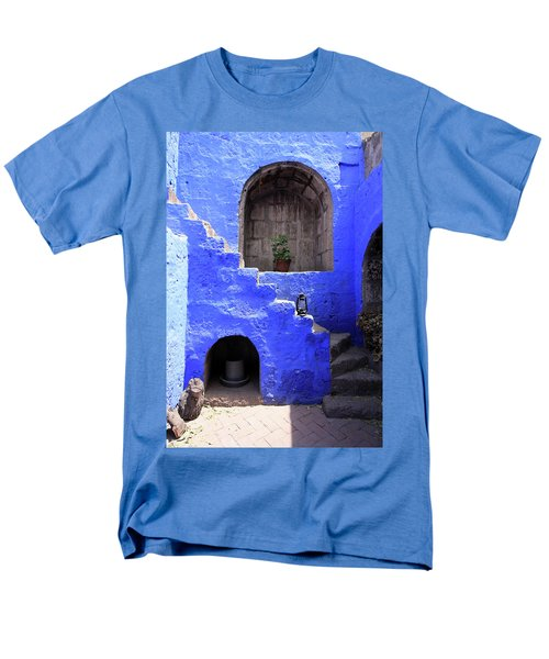 Santa Catalina Monastery, Arequipa, Peru Men's T-Shirt  (Regular Fit) by Aidan Moran