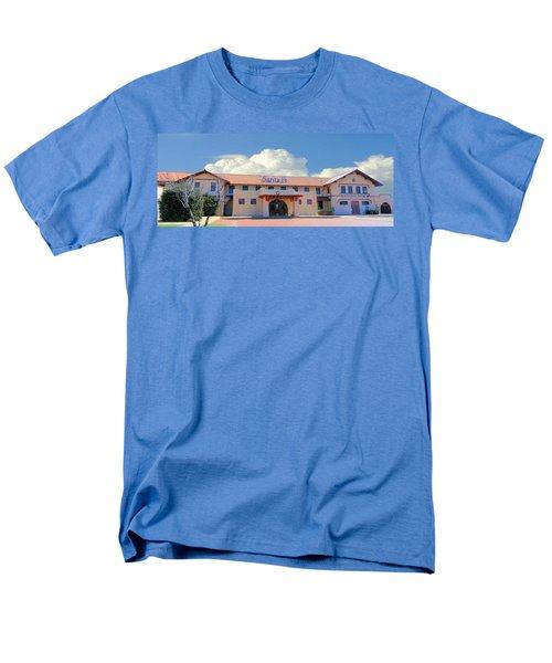 Santa Fe Depot In Amarillo Texas Men's T-Shirt  (Regular Fit) by Janette Boyd