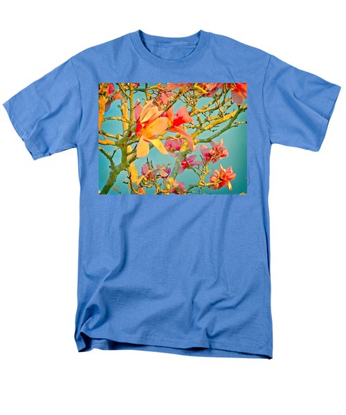 Men's T-Shirt  (Regular Fit) featuring the photograph Saucer Magnolia by Angela Annas