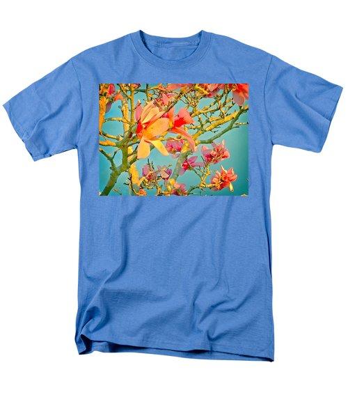 Saucer Magnolia Men's T-Shirt  (Regular Fit) by Angela Annas