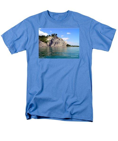 Scarborough Bluffs-lake View Men's T-Shirt  (Regular Fit) by Susan  Dimitrakopoulos