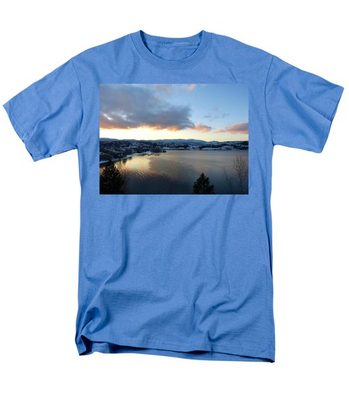 Men's T-Shirt  (Regular Fit) featuring the photograph Scenic Lake Country by Will Borden