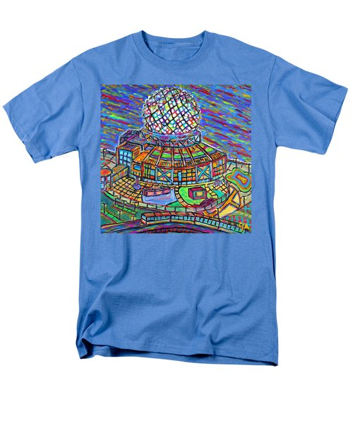 Science World, Vancouver, Alive In Color Men's T-Shirt  (Regular Fit) by Jeremy Aiyadurai