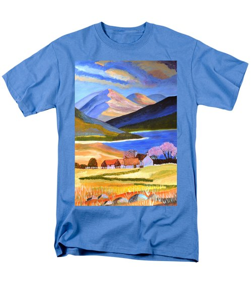 Scottish Highlands 2 Men's T-Shirt  (Regular Fit) by Magdalena Frohnsdorff