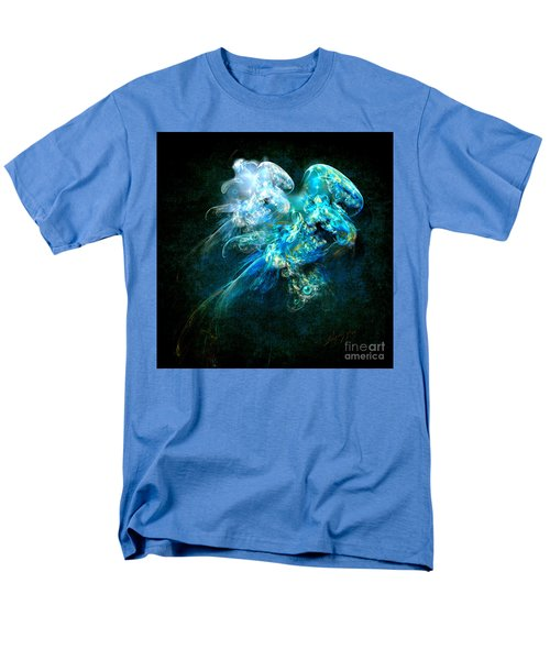 Men's T-Shirt  (Regular Fit) featuring the painting Sea Jellyfish by Alexa Szlavics