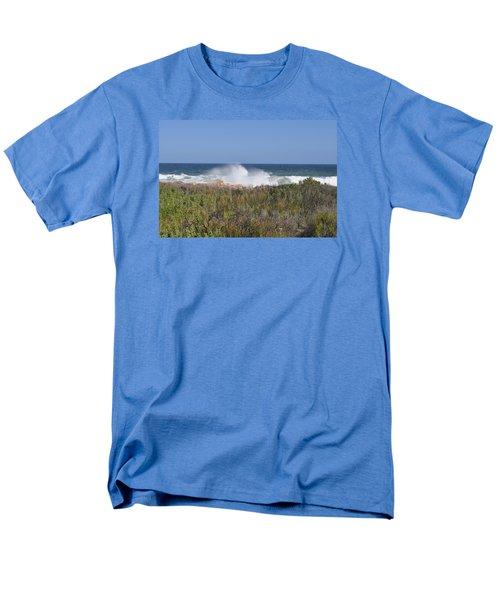 Men's T-Shirt  (Regular Fit) featuring the photograph Sea Spray by Linda Ferreira