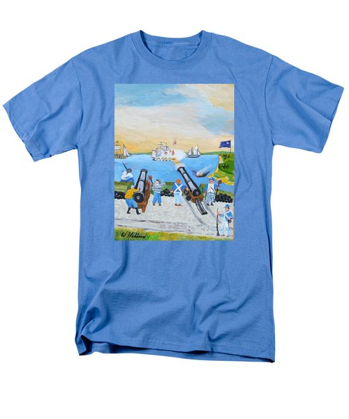 Seige Of Charleston, Sc Men's T-Shirt  (Regular Fit) by Bill Hubbard