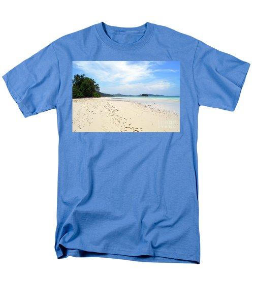Men's T-Shirt  (Regular Fit) featuring the digital art Seychelles Islands 5 by Eva Kaufman