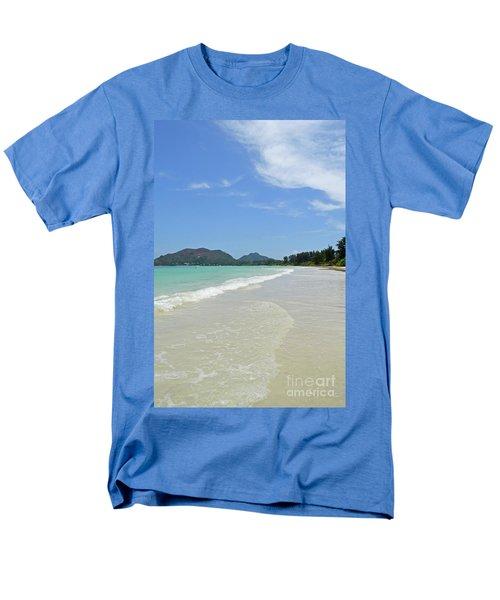 Seychelles Islands 6 Men's T-Shirt  (Regular Fit) by Eva Kaufman