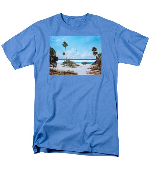 Siesta Key Fun Men's T-Shirt  (Regular Fit) by Lloyd Dobson