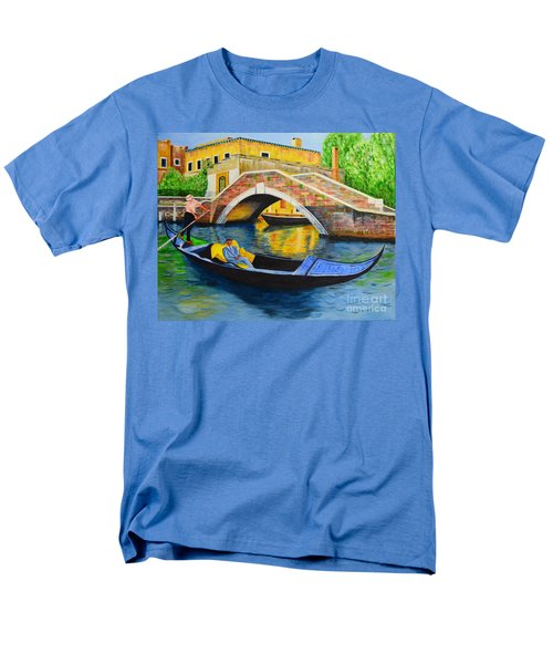 Men's T-Shirt  (Regular Fit) featuring the painting Sightseeing by Melvin Turner