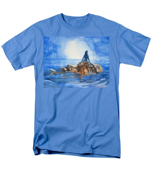 Men's T-Shirt  (Regular Fit) featuring the painting Siren Song by Marilyn Jacobson