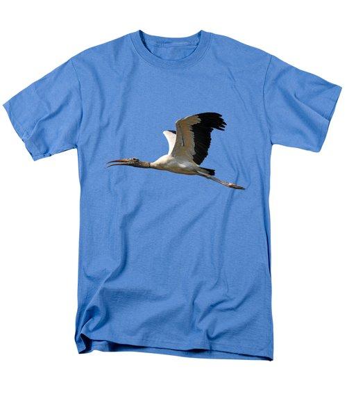 Sky Stork Digital Art .png Men's T-Shirt  (Regular Fit)