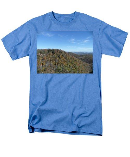 Smokies 7 Men's T-Shirt  (Regular Fit) by Val Oconnor