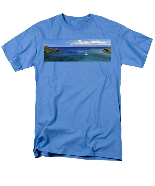 Men's T-Shirt  (Regular Fit) featuring the photograph Snorkeling In Maui by James Eddy