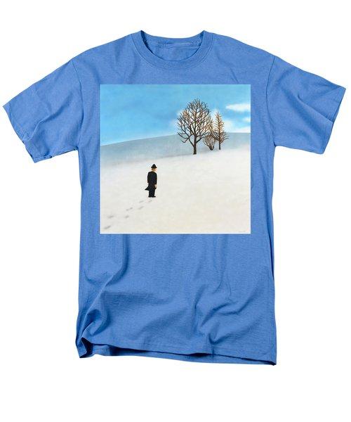 Snow Day Men's T-Shirt  (Regular Fit)