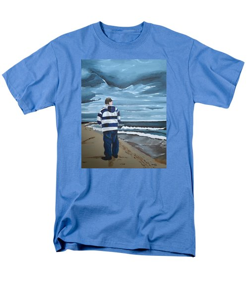 Men's T-Shirt  (Regular Fit) featuring the painting Solitude by Donna Blossom