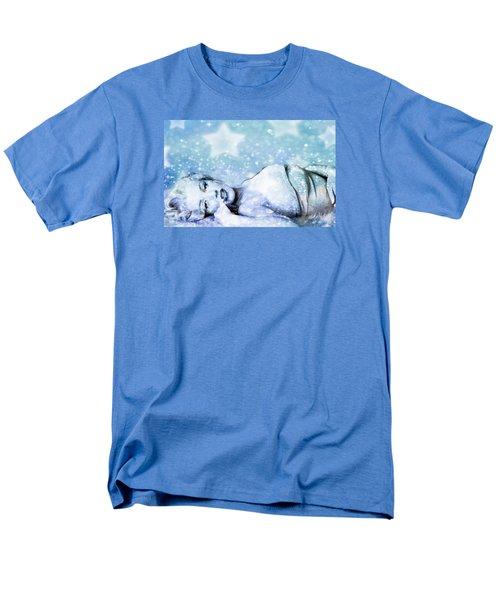 Men's T-Shirt  (Regular Fit) featuring the digital art Sparkle Queen by Greg Sharpe