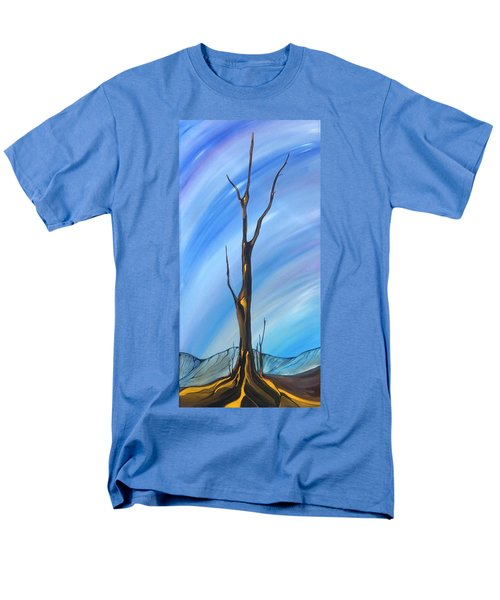 Men's T-Shirt  (Regular Fit) featuring the painting Spike by Pat Purdy