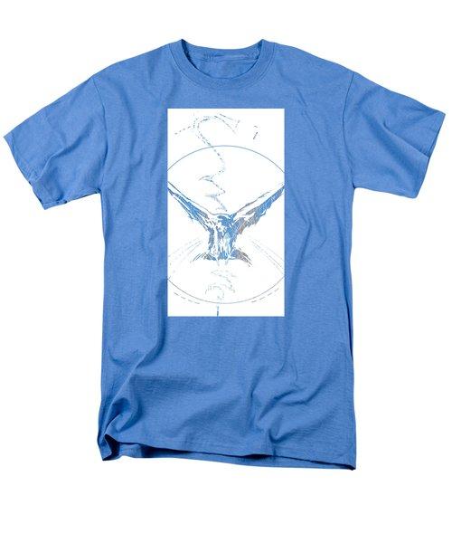 Spirit Animal . Crow Men's T-Shirt  (Regular Fit) by John Jr Gholson