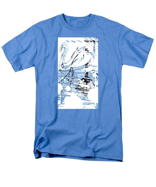 Spirit Animal . Swan Men's T-Shirt  (Regular Fit) by John Jr Gholson