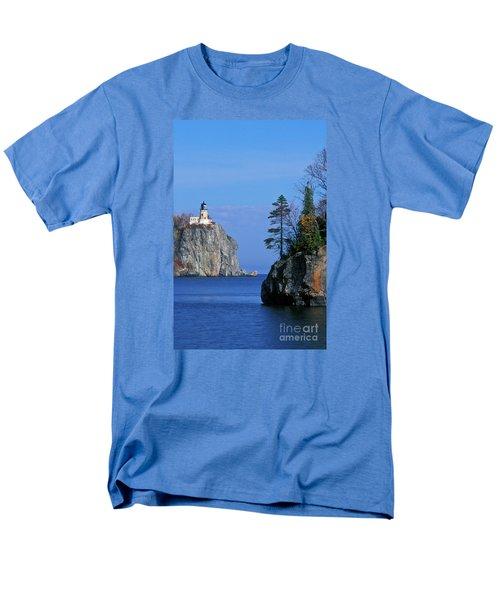 Split Rock Lighthouse - Fs000120 Men's T-Shirt  (Regular Fit) by Daniel Dempster