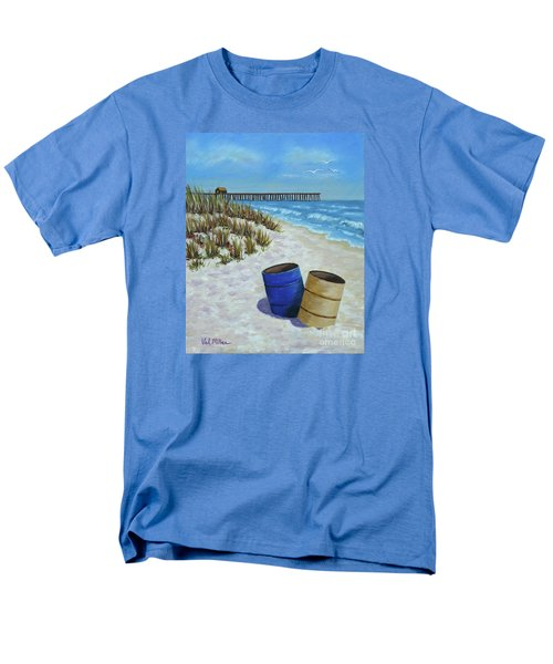 Spring Day On The Beach Men's T-Shirt  (Regular Fit) by Val Miller