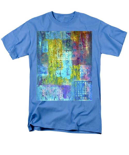 Men's T-Shirt  (Regular Fit) featuring the painting Spring Into Summer by Everette McMahan jr