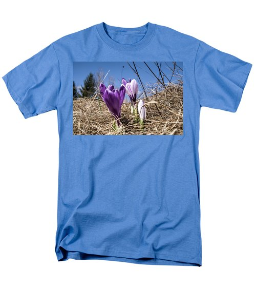 Men's T-Shirt  (Regular Fit) featuring the photograph Spring On Bule by Nick Mares
