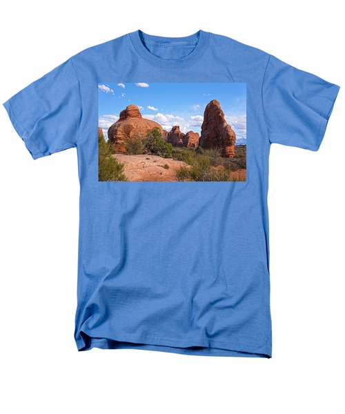 Stone Gods 0f Arches Men's T-Shirt  (Regular Fit) by Angelo Marcialis