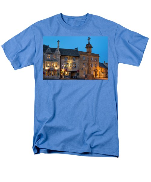 Men's T-Shirt  (Regular Fit) featuring the photograph Stow On The Wold - Twilight by Brian Jannsen