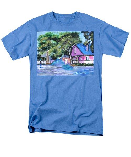 Street In St Augustine Men's T-Shirt  (Regular Fit) by Luis F Rodriguez