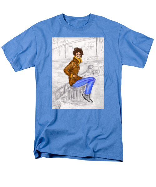 Strike A Pose Men's T-Shirt  (Regular Fit)
