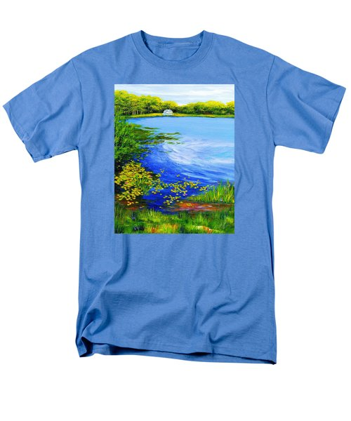 Summer At The Lake Men's T-Shirt  (Regular Fit) by Anne Marie Brown