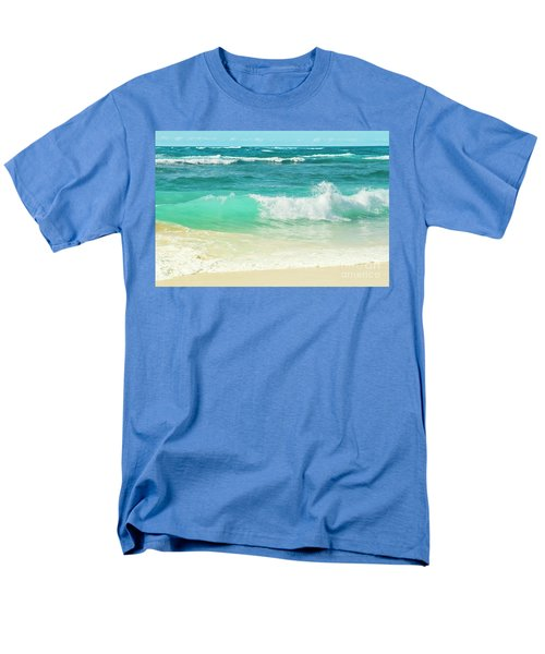 Men's T-Shirt  (Regular Fit) featuring the photograph Summer Sea by Sharon Mau