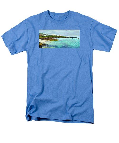 Summertime, Isle Of Iona Men's T-Shirt  (Regular Fit) by Judi Bagwell