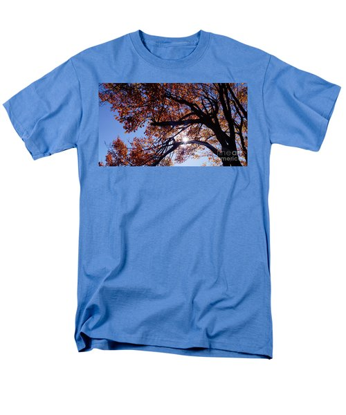 Sun Peaking Threw Men's T-Shirt  (Regular Fit) by Debra Crank