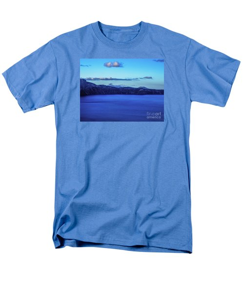 Sundown At Crater Lake Men's T-Shirt  (Regular Fit) by Nancy Marie Ricketts
