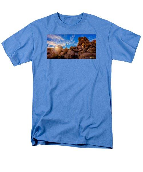 Men's T-Shirt  (Regular Fit) featuring the photograph Sunrise At Skull Rock by Rikk Flohr