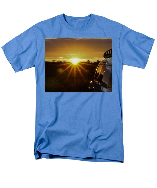 Sunrise And My Ride Men's T-Shirt  (Regular Fit) by Jeremy McKay