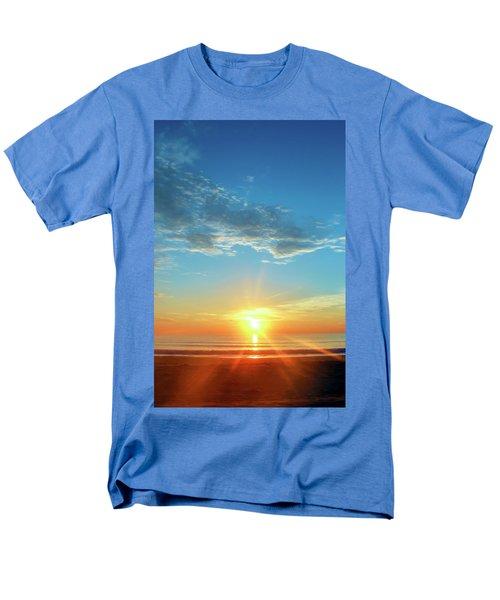 Sunrise With Flare Men's T-Shirt  (Regular Fit) by David Stasiak