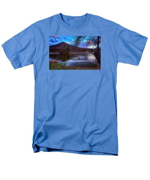 Sunset At Abbott Lake Men's T-Shirt  (Regular Fit) by Steve Hurt