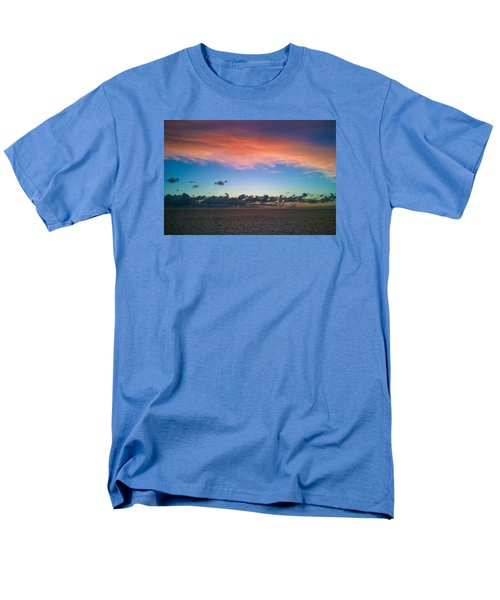 Men's T-Shirt  (Regular Fit) featuring the photograph Sunset At Sea by Matthew Bamberg