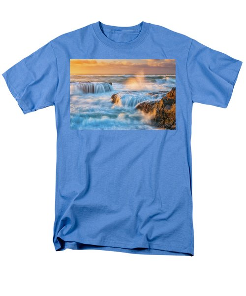 Men's T-Shirt  (Regular Fit) featuring the photograph Sunset Fury by Darren White