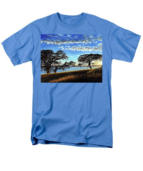 Sunset In Lucerne Men's T-Shirt  (Regular Fit) by Linda Becker