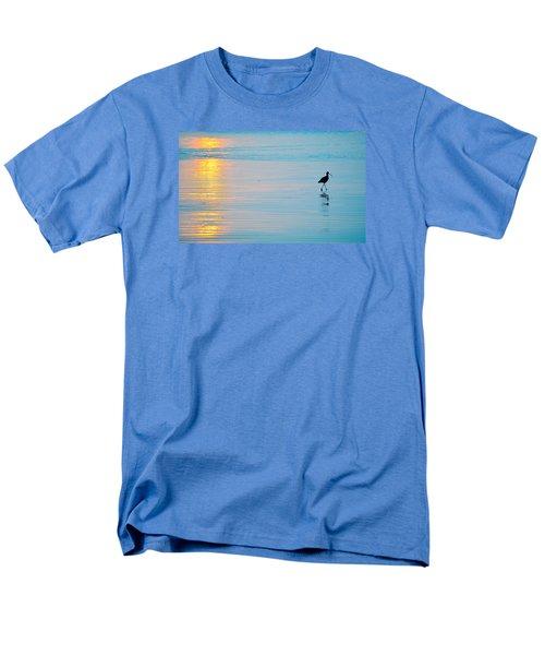 Sunset Stroll Men's T-Shirt  (Regular Fit) by AJ  Schibig
